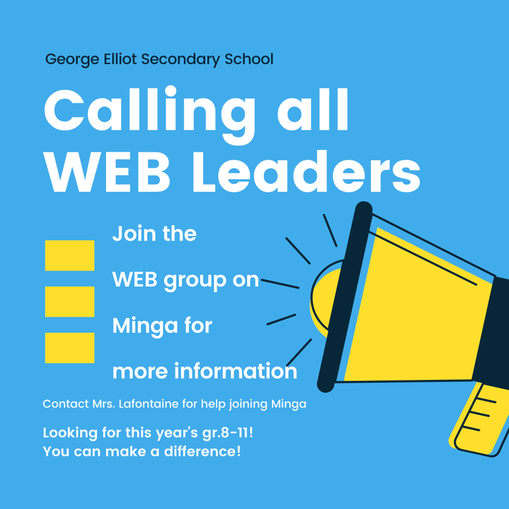 Want to be a WEB leader?